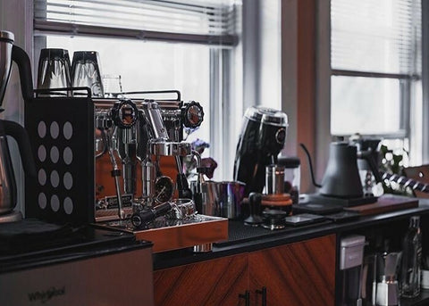 Work from home appartmento coffee machine at Global coffee Resources