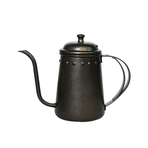 Teflon Black Drip Kettle with Thermometer 700cc