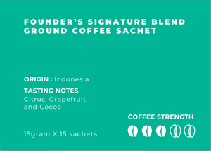 Degayo Coffee Brew At Home - Founder's Signature Blend (15 sachets)