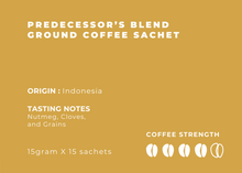 Load image into Gallery viewer, Degayo Coffee Brew At Home - Predecessor Blend (15 sachets)