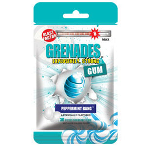 Grenades Gum - Peppermint Bang 30pcs