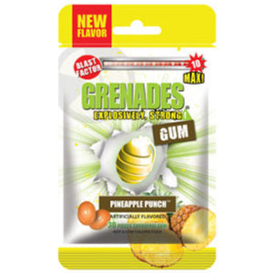 Grenades Gum - Pineapple Punch 30pcs