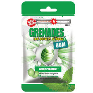 Load image into Gallery viewer, Grenades Gum - Wild Mint 30pcs
