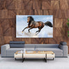 Tablou Canvas Bay Horse in Snow