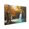 Tablou Canvas Deep Forest Waterfall