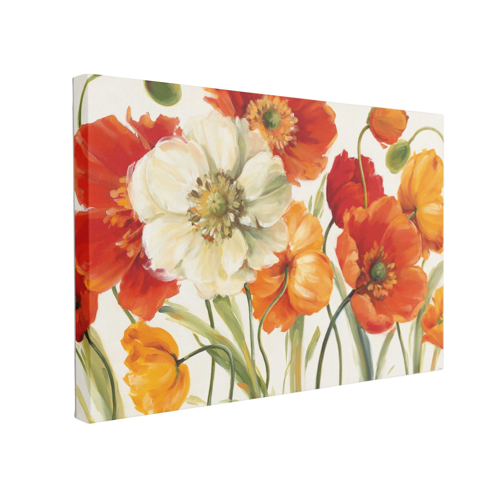 Tablou Canvas Poppies Melody