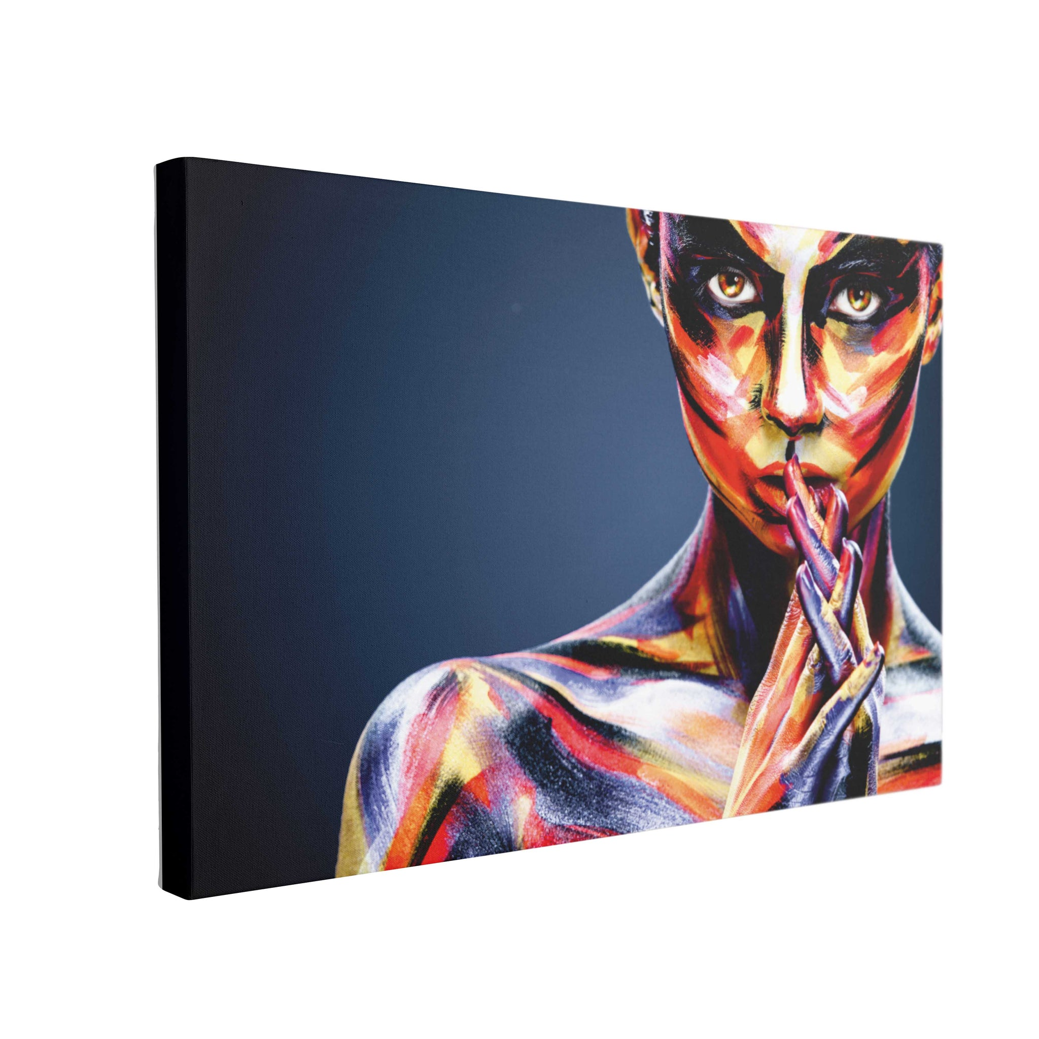Tablou Canvas Colorful Girl