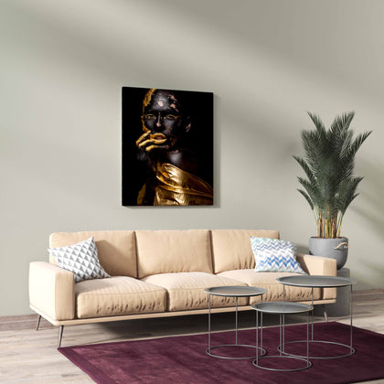 Tablou Canvas Golden Seduction