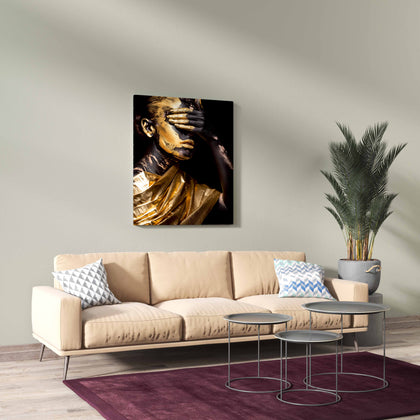 Tablou Canvas Golden Cover