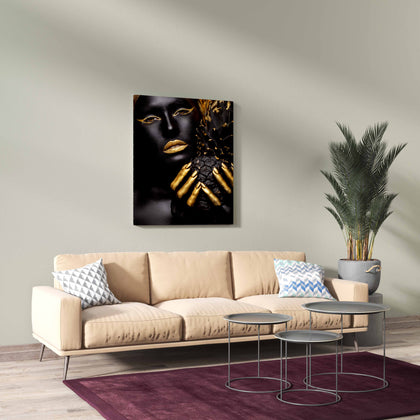 Tablou Canvas Gold Pineapple