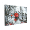 Tablou Canvas White and Red, Big Ben London