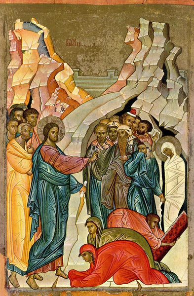 "A Short Video Lesson on Icon of ""The Raising of Lazarus"""