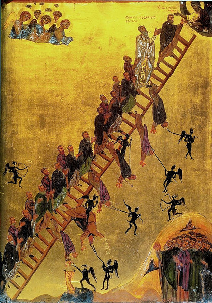 "A Short Video Lesson on the Icon of ""The Ladder of Divine Ascent"""