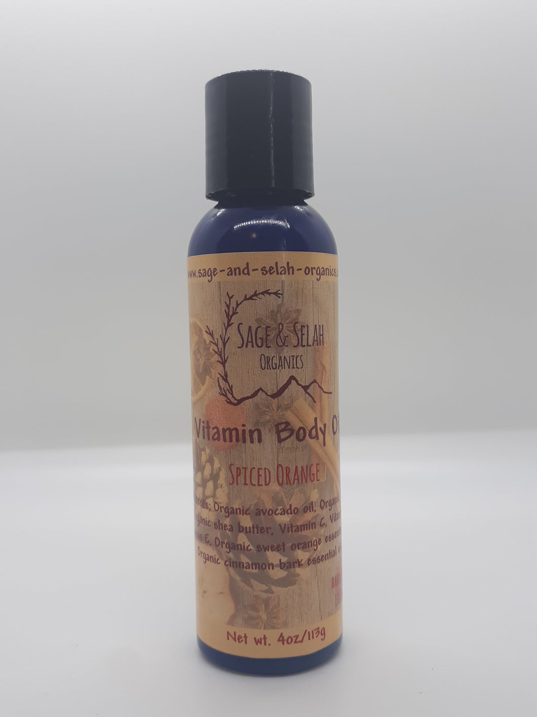 Vitamin Body Oil - Holiday Blends - 4oz