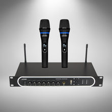 Load image into Gallery viewer, SONIO PRO Wireless Microphone System with Echo, Bass and Treble Control & Rechargeable Functions - Sonio