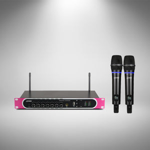 SONIO PRO [2021 New Year Limited Edition] Wireless Microphone System with Echo, Bass and Treble Control & Rechargeable Functions - Sonio