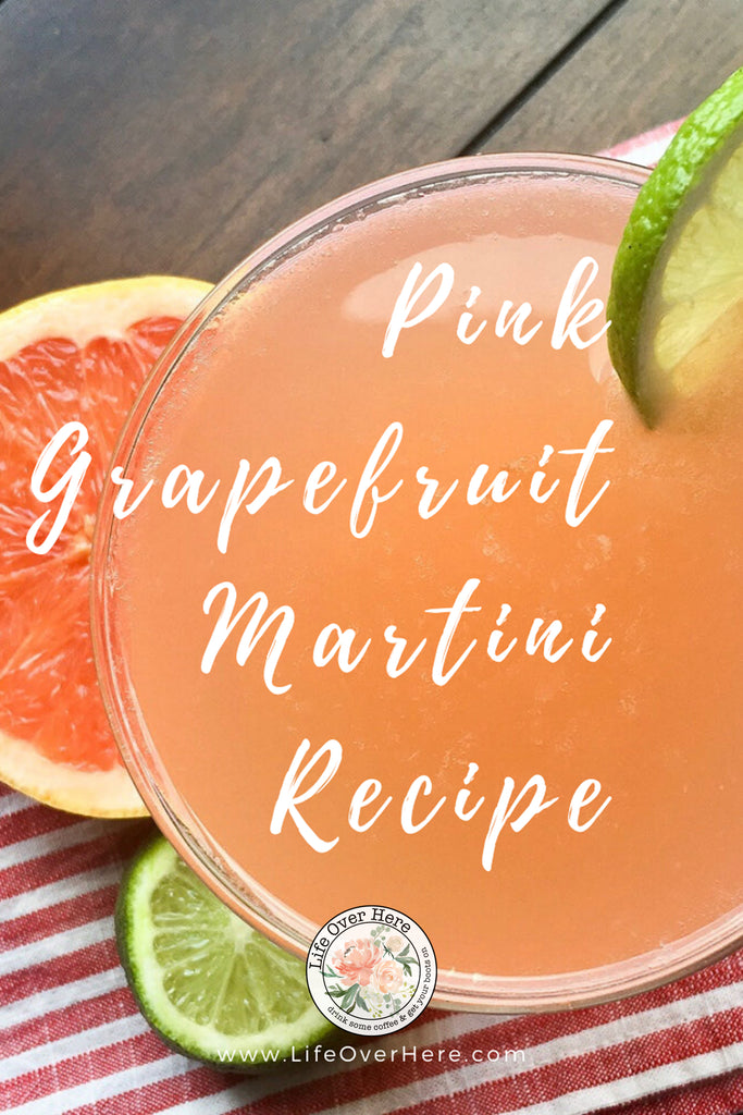 Pink Grapefruit Martini Recipe