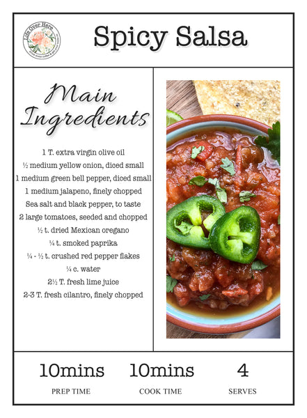 Spicy Salsa Recipe Ingredients