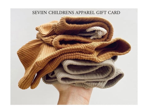 SEVIIN Children's Apparel Gift card