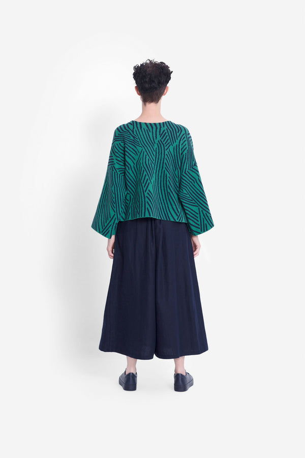 No:K0698 | Name:FRAJA SWEATER | Color:GREEN | Size-S/M【ELK】【入荷予定アイテム・入荷連絡可能】202105