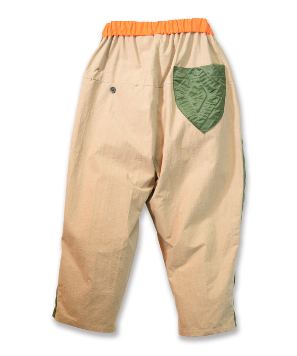 No:MK21A-P-12 | Name:BUMP-PANTS | Color:Beige | Style:Line Pants 【Masterkey】