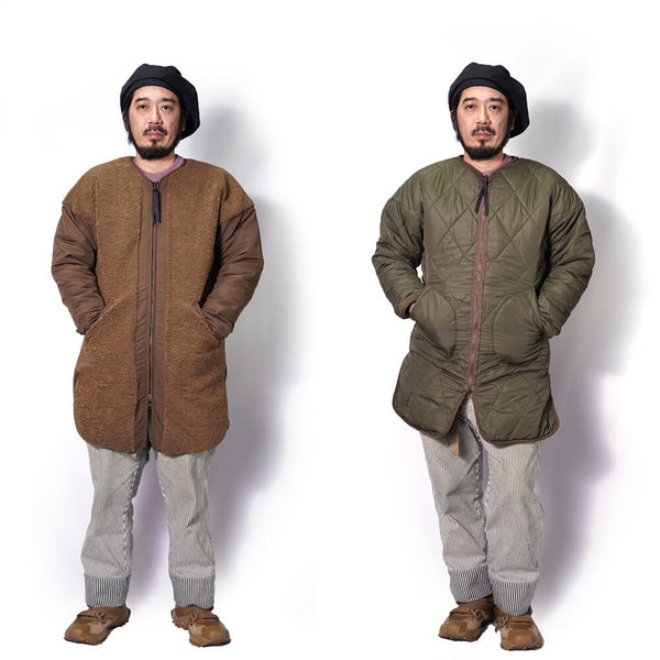 Name:Tavlor  REVERSIBLE LINNER COAT Color:Mocha【KELEN】