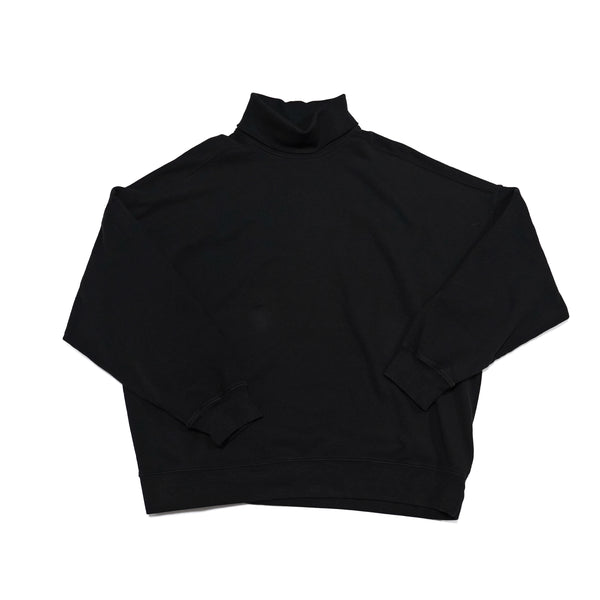 No:M28701 | Name:Turtleneck Sweatshirt | Color:Black | Style: 【MONITALY】