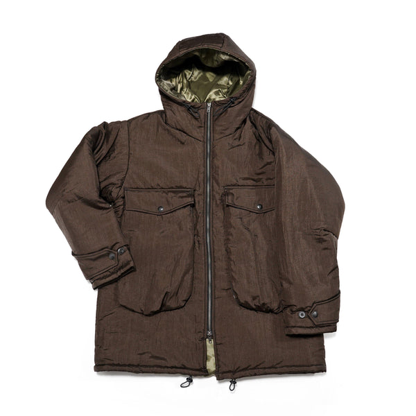 No:M28011 | Name:NYC Car Coat | Color:Taslan Nylon Brown | Style: 【MONITALY】
