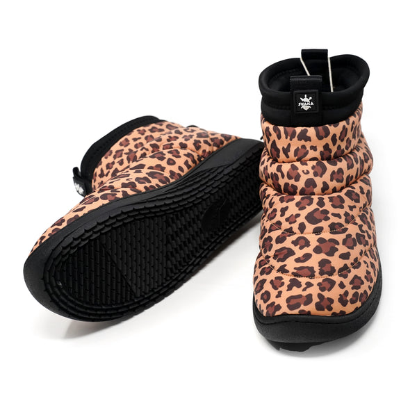 NO:433168 | Name:SCHLAF BOOTIE | Color:Leopard | Style:【SHAKA】