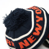 "No:7106 Name:Bon Bon CasQuette ""NEW YORK "" Color:Black / Navy【68&brothers】"