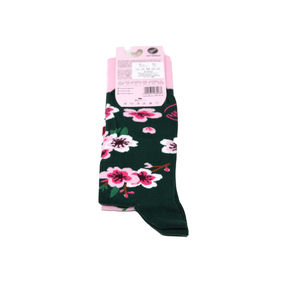 many mornings reguler socks /Cherry Blo/ 【many mornings メニ―モーニングス】【ネコポス選択可能】
