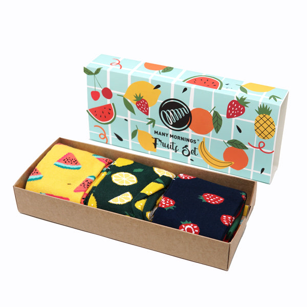 many mornings box set /Fruit Set/ 【many mornings メニ―モーニングス】