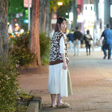 No:OSK-F20-35B | Name: | Unpaved Stretches | Color:Brown | Pleated shouldered trench coat 【OSKER THE LABEL】