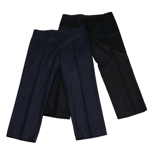 Name:Straight Trousers  | Color:Black/Navy【CEASTERS ケステル】