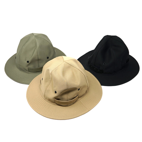 No:rl-21-1140 | Name:Reversible metro hat / リバーシブルメトロハット | Color:Black/Beige/Olive【Racal ラカル】