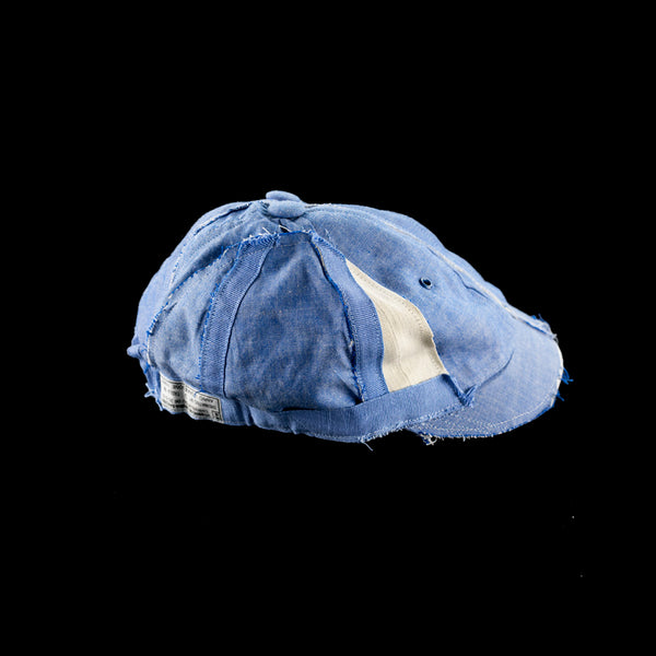 No:mo21ss-rs-cp01 | Name:FRONT AND BACK CHAMBRAY CAP TYPE1 | Color:ONE COLOR | | Size-Free【MAKEOVER】【入荷予定アイテム・入荷連絡可能】
