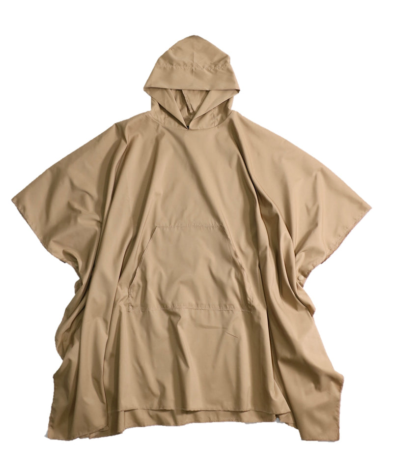 No:sn21s005 | Name:camping poncho | Color:solid khaki | Size-L【SUNNYSPORTS】