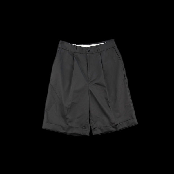 No:vr21ss-sd-pt02 | Name:BIG CHINO SHORTS | Color:BLACK | Size-1/2【VARDE77】【入荷予定アイテム・入荷連絡可能】