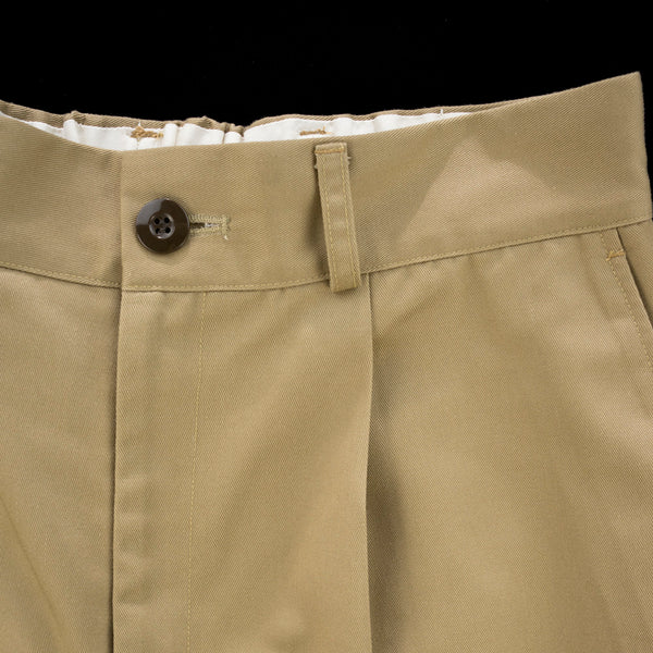No:vr21ss-sd-pt02 | Name:BIG CHINO SHORTS | Color:CAMEL | Size-1/2【VARDE77】【入荷予定アイテム・入荷連絡可能】