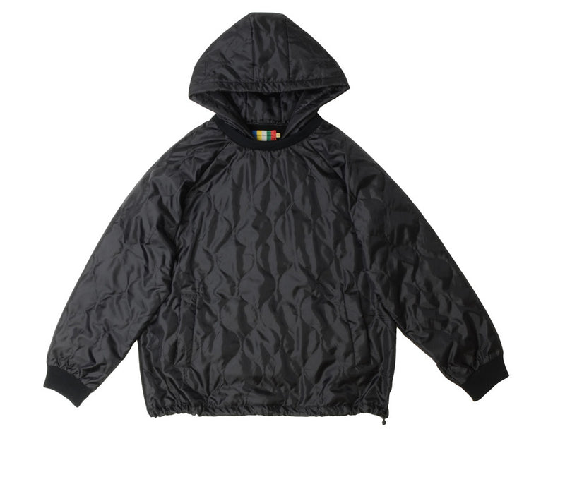 NO:VOO-1018B | Name:ONION Q HOODY | Color:BLACK | Style:【VOO】