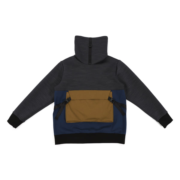 NO:WDM11R0302A | Name:Dimension Sweater - Black | 【WEAVISM】