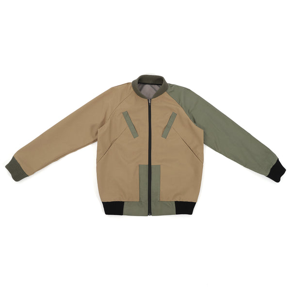 NO:WDM16E0402A | Name:Twine Jacket - Khaki | 【WEAVISM】