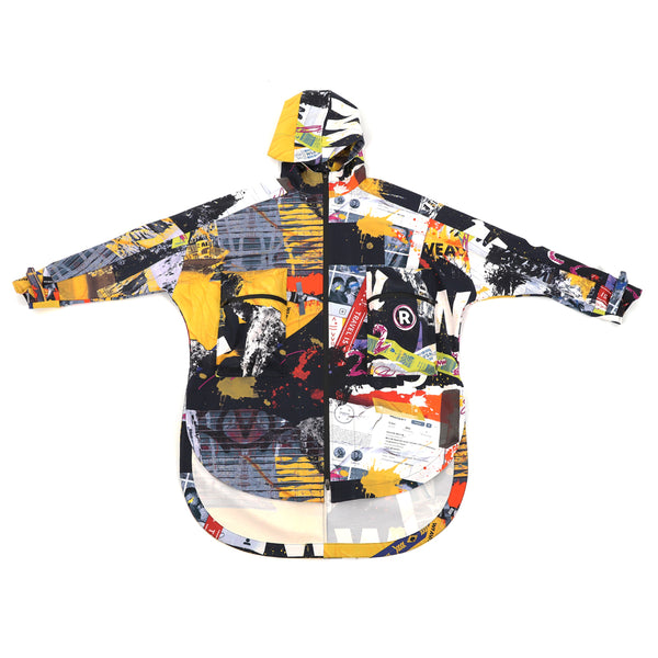 NO:WDM16R1002B | Name:Tekkon Jacket - Graffiti | 【WEAVISM】