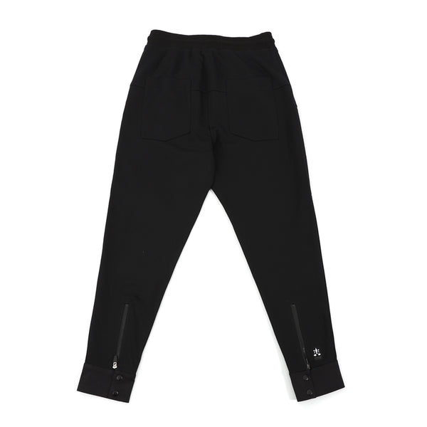NO:WDM20R0502A | Name:Beam Pants - Black | 【WEAVISM】