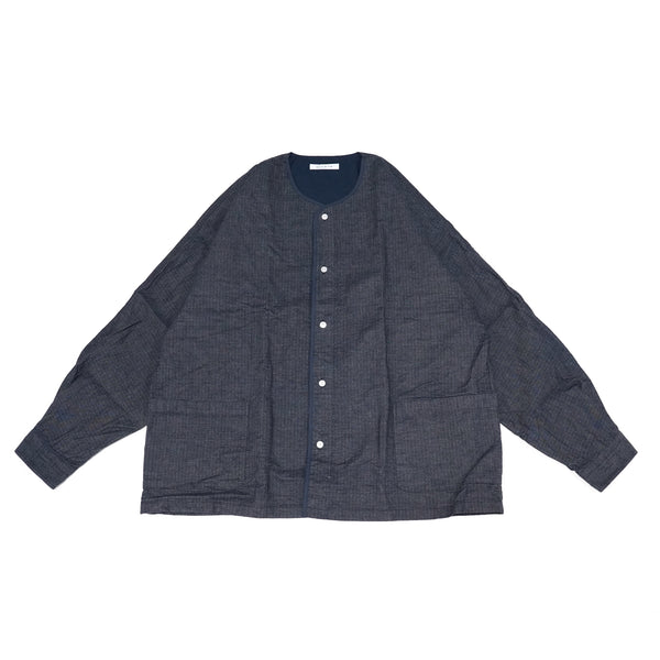 No:SIDEPOCKETDOLMAN2021SS | Name:Sidepocket Dolman Shirts Ripstop Indigo | Color:Blue | Size-M/L【CATTA】