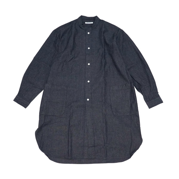 No:SIDEPOCKETLONGS2021SS | Name:Sidepocket Longshirts Ripstop Indigo | Color:Blue | Size-Free【CATTA】