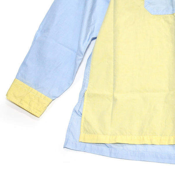 No:WPOCKETSH2021SSB | Name:W Pocket Shirts 100/2 | Color:Multi | Size-M/L【CATTA】