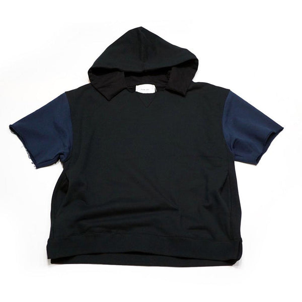 APPENDIXHOOD SWEAT Color:BLACK×NAVY 【Palme d'Or】