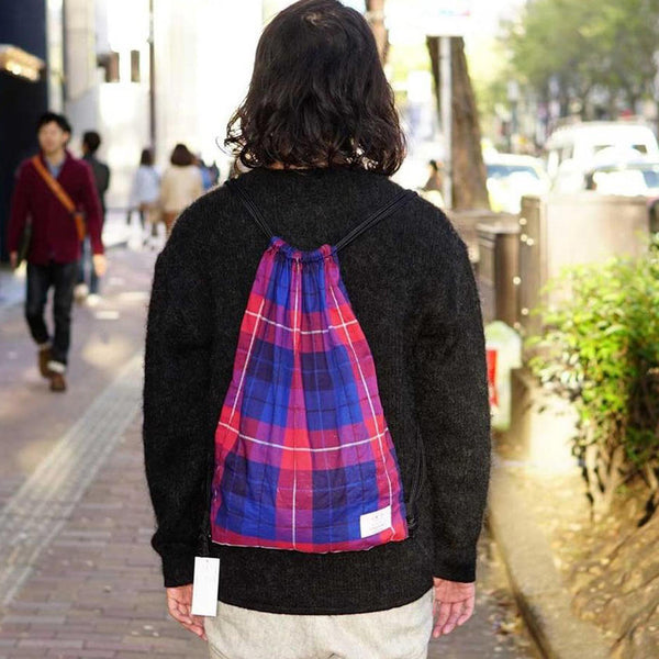 Check Knapsack Color:Check 【STRATTON TEXTILES】【ネコポス選択可能】