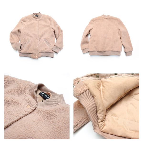 STYLE Name:JAMIE BOMBER JACKET Color:DUSTY BLUSH【THE FIFTH LABEL】